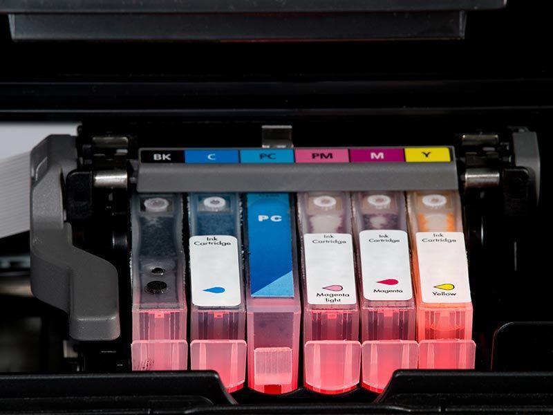 Reciclaje cartuchos de tinta usados