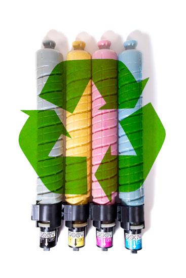 Reciclaje cartuchos usados